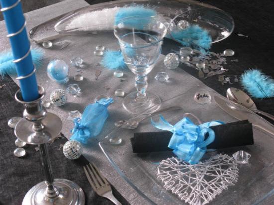 Décoration de table avec nos produits.